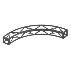 "A Type Curve Truss 90Deg, 12' 3/4"" Diam (4Pc)"
