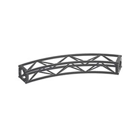 "A Type (12"") Curve Truss 45Deg, 18' 3/4"" Diam (8Pc)"