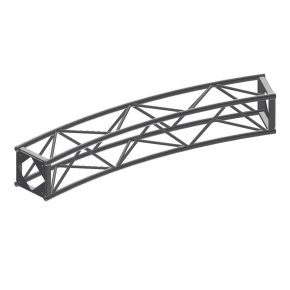 "B Type Curve Truss 30Deg, 32' 2 1/4"" Diam (12Pc)"