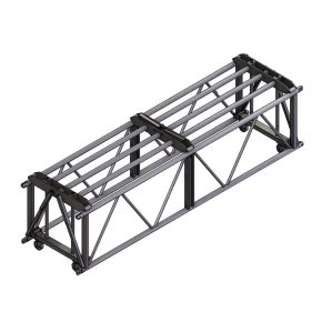 D Type (Swing Wing) Blk 10' Truss