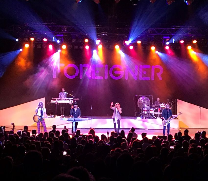 Foreigner 40th Anniversary Tour 2017<br>