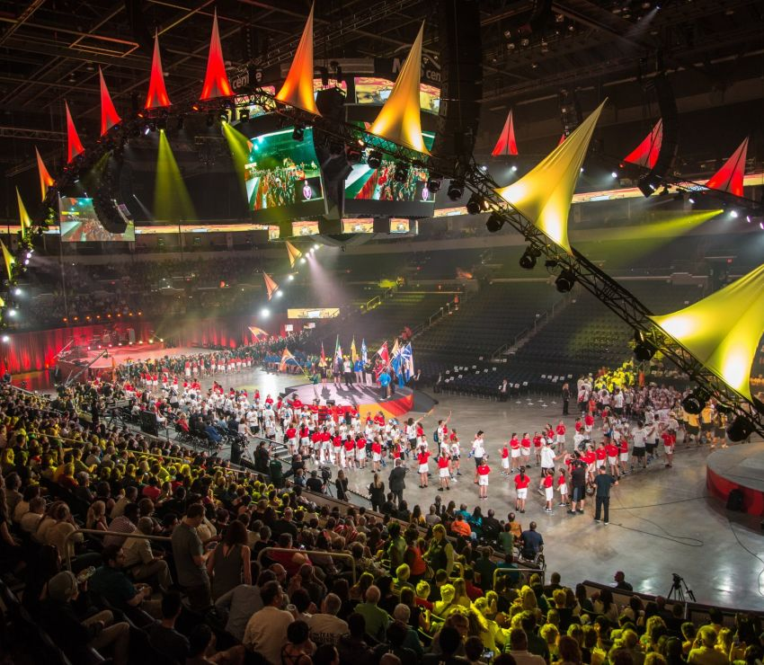 Canada Summer Games Opening Ceremonies<br>