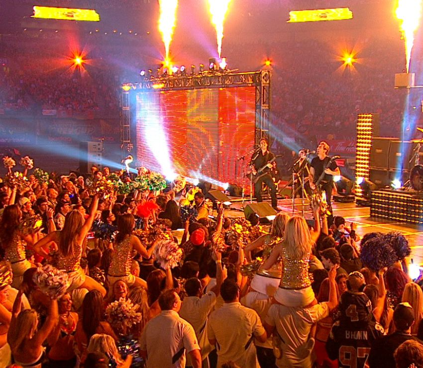 2011 CFL Grey Cup Halftime Show<br>
