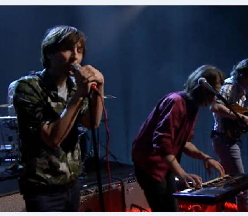 Phoenix Perform &#34;J-Boy&#34; on &#34;The Tonight Show Starring Jimmy Fallon&#34;<br>