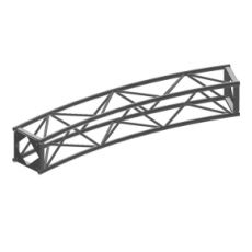 "SKU number: B Type (16"") Curve Truss 30Deg, 32' 2 1/4"" Diam (12Pc)"
